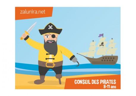 Le conseil des pirates - 8-11 ans