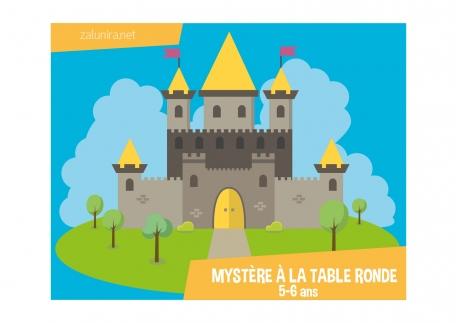 Mystère à la Table Ronde - 5-6 ans